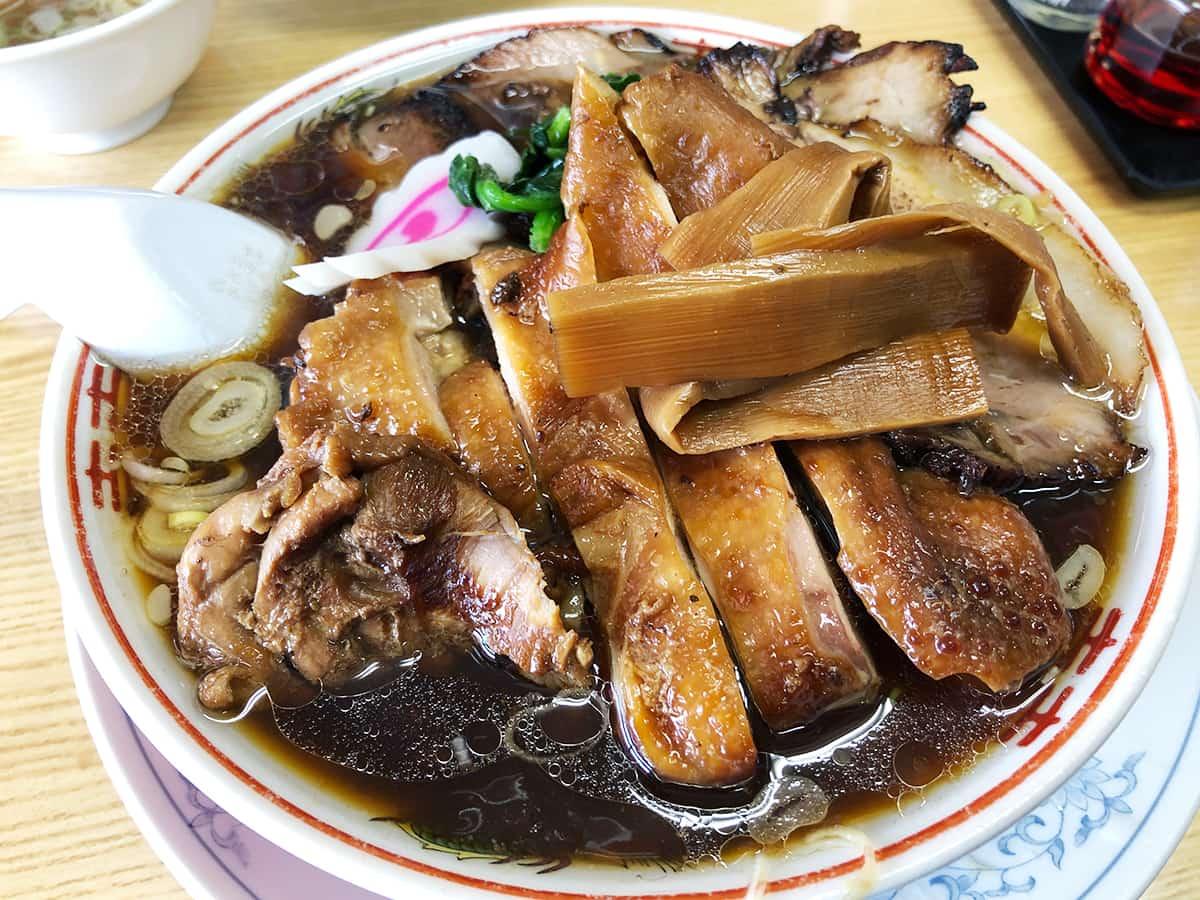 埼玉県 加須 かし亀|生姜醤油チャーシュー麺