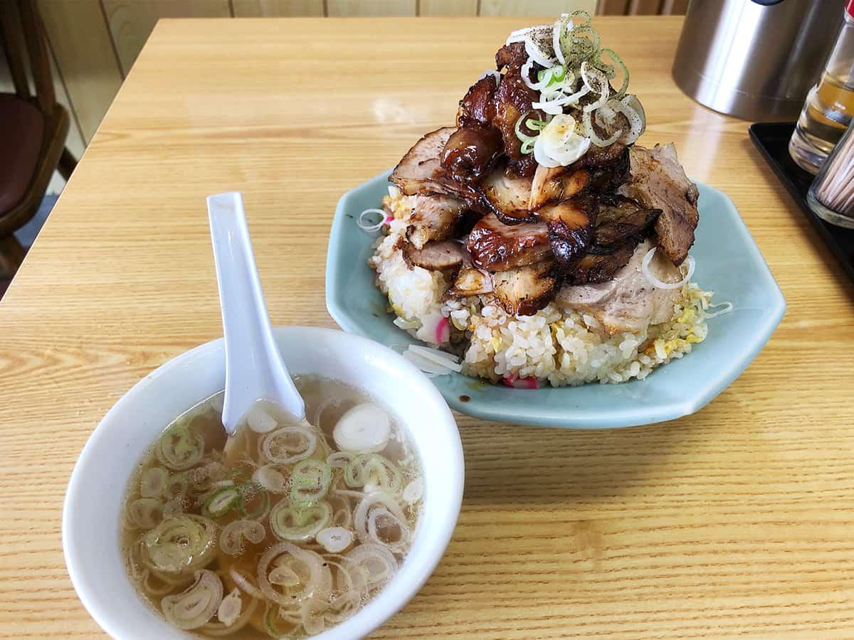 埼玉県 加須 かし亀|チャーシュー炒飯