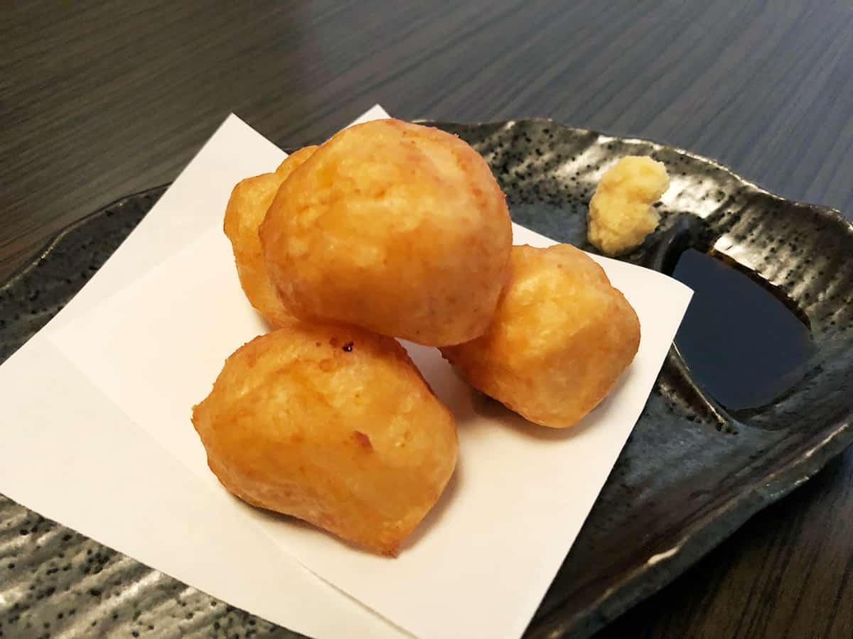 東京 浅草 おざわ イカと海老の薩摩揚げ