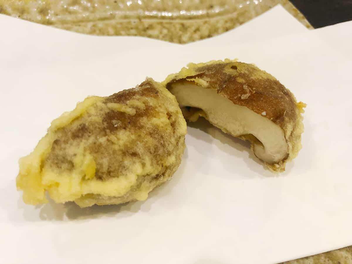 東京 立川 天ぷら わかやま|椎茸