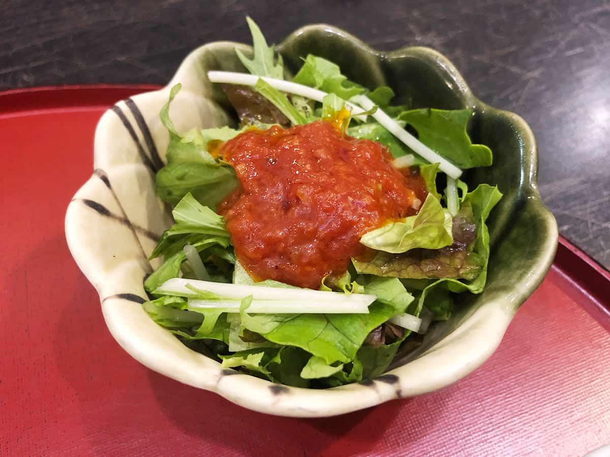 東京 立川 天ぷら わかやま|サラダ