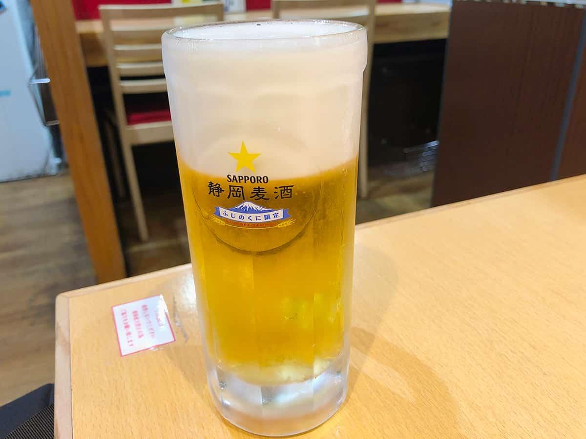 静岡 浜松 石松餃子 JR浜松駅店 静岡麦酒樽生
