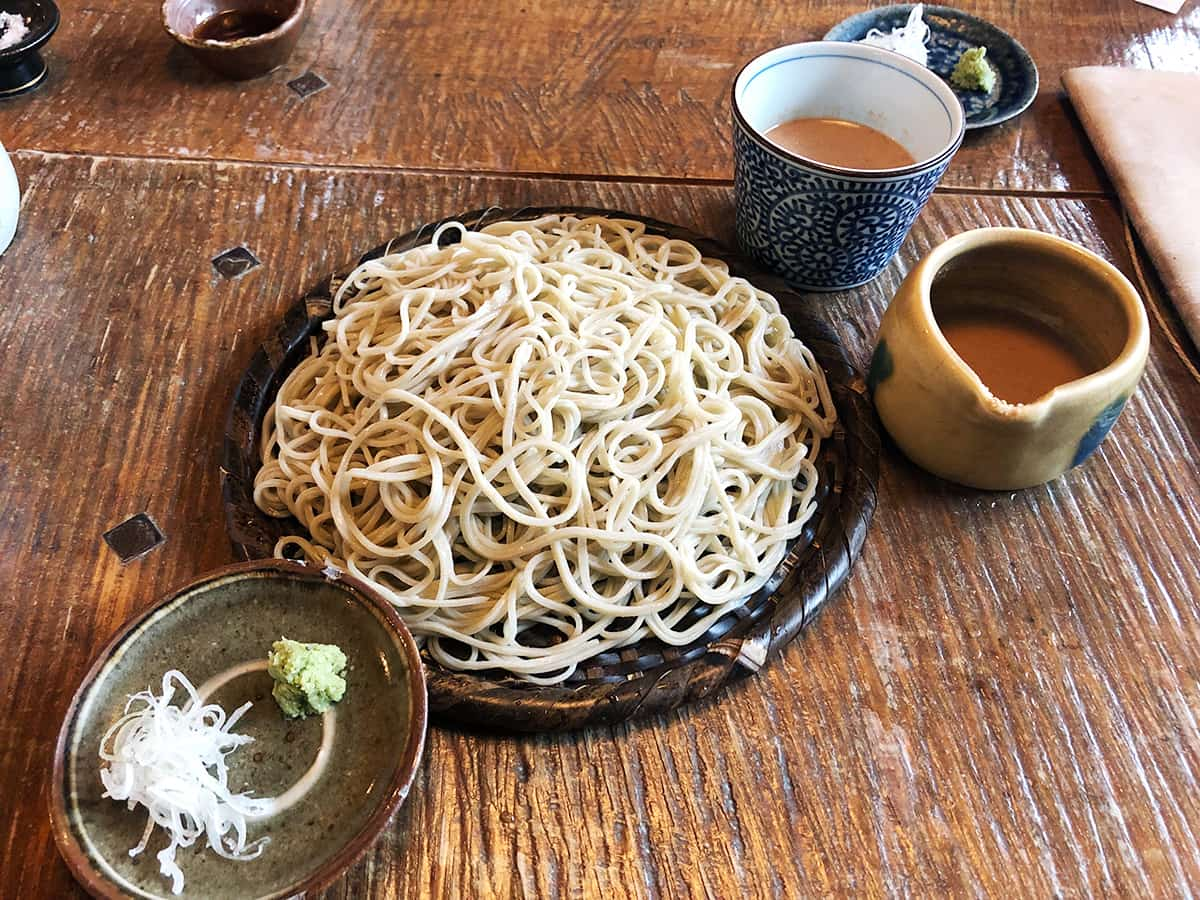 静岡 浜松 naru|くるみタレせいろ蕎麦