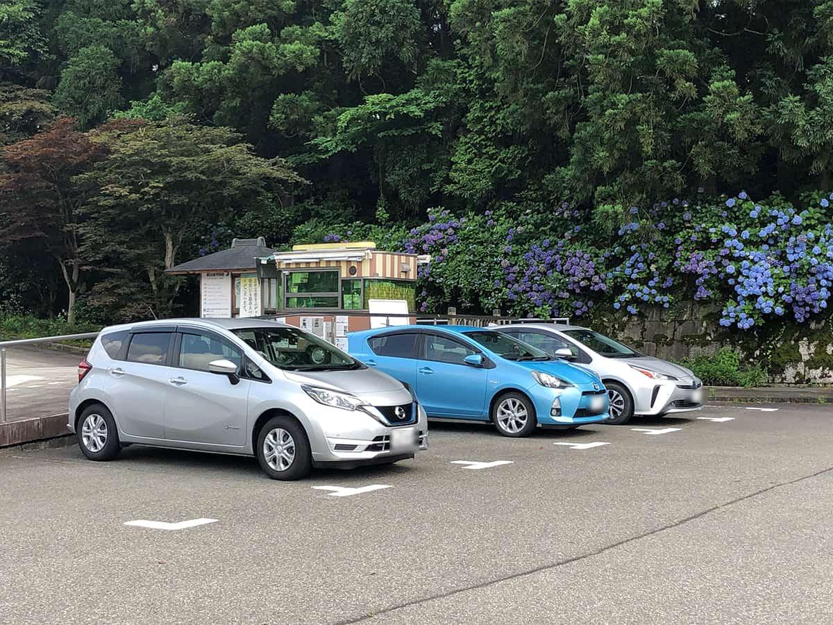 福井 勝山 ラブリー牧場 みるく茶屋 本店|駐車場
