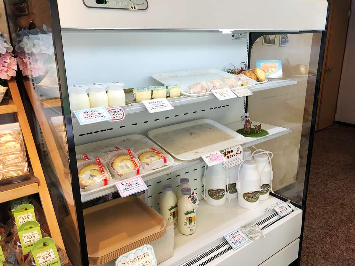 福井 勝山 ラブリー牧場 みるく茶屋 本店|乳製品