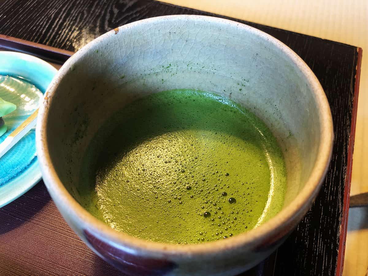 石川 金沢 久連波|抹茶