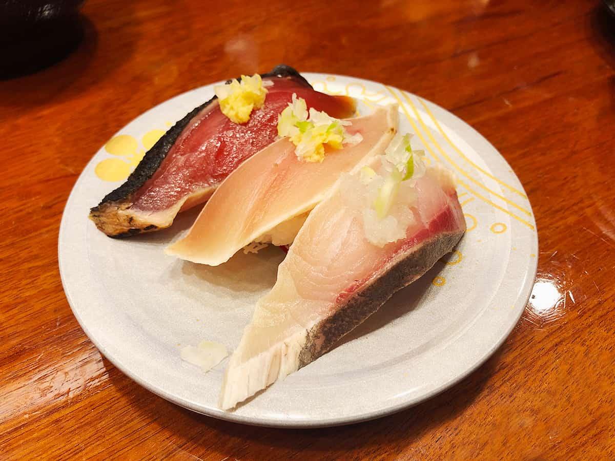石川 金沢 もりもり寿し 近江町店|たたき三点盛