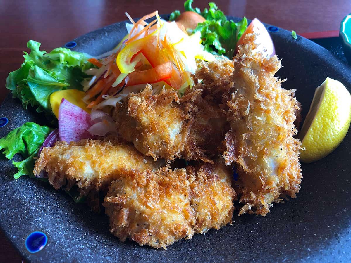 石川 珠洲 庄屋の館 地魚フライ定食