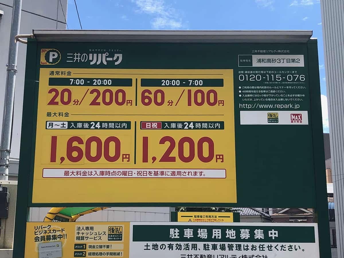 埼玉 浦和 中村家|駐車場