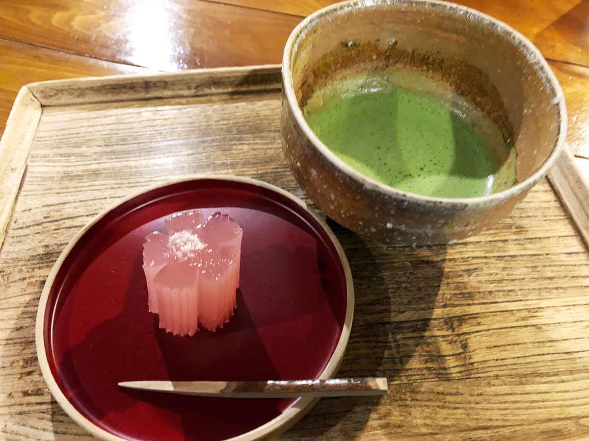 埼玉 浦和 楽風|抹茶セット
