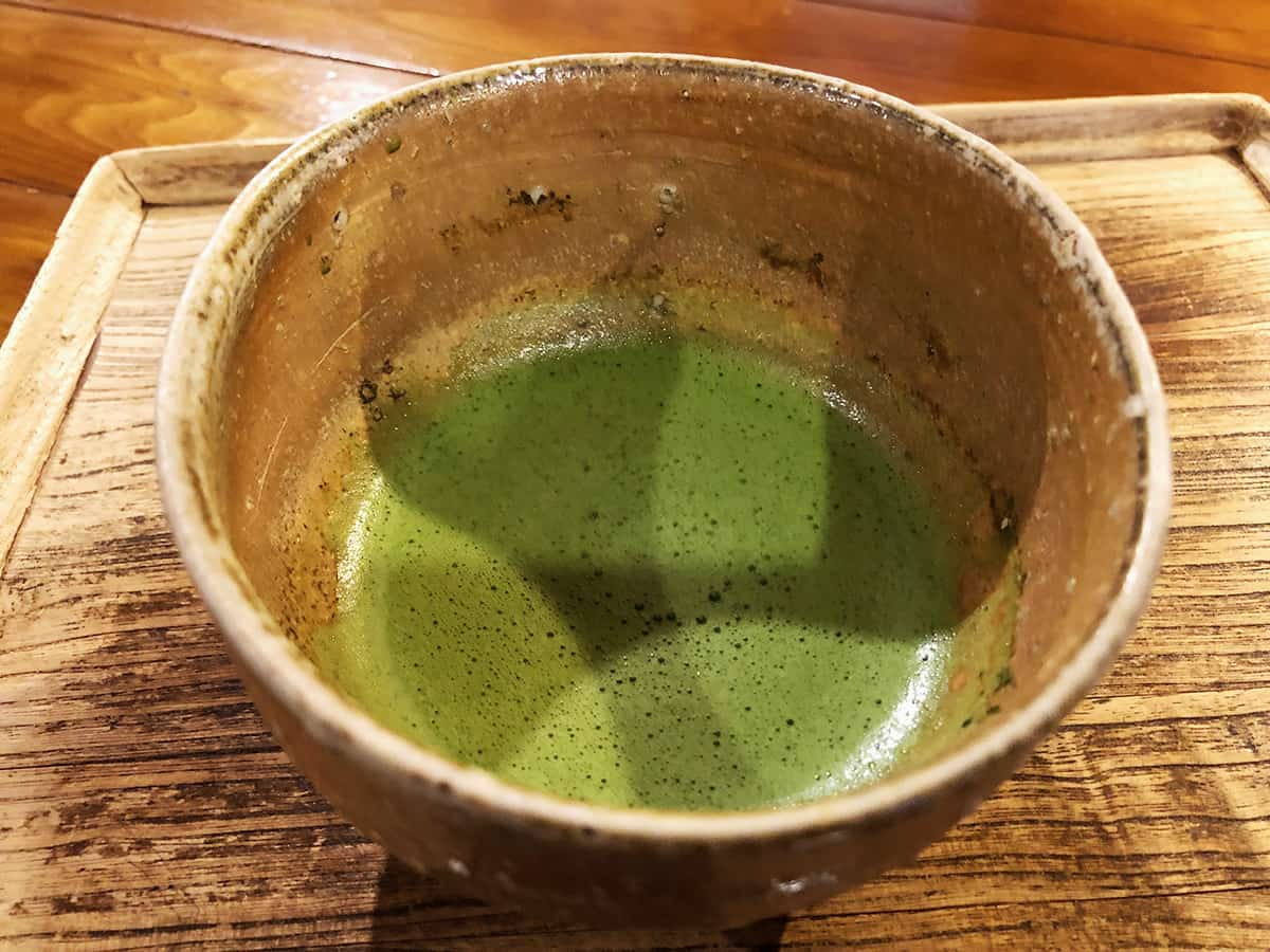 埼玉 浦和 楽風|抹茶