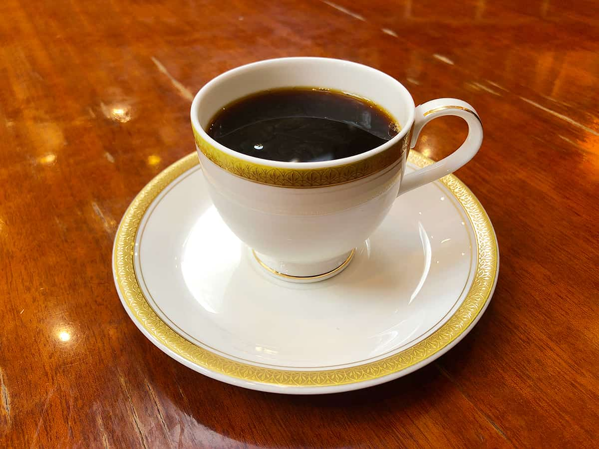 東京 銀座 トリコロール 本店 アンティークブレンドコーヒー