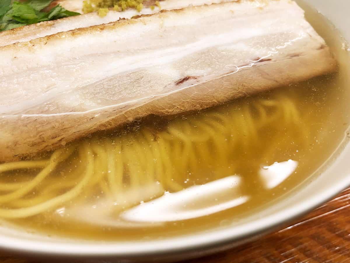 東京 有楽町 麺屋ひょっとこ 交通会館店 スープ