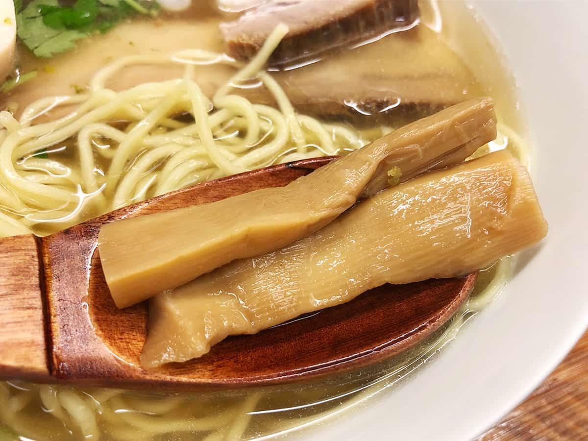 東京 有楽町 麺屋ひょっとこ 交通会館店 メンマ