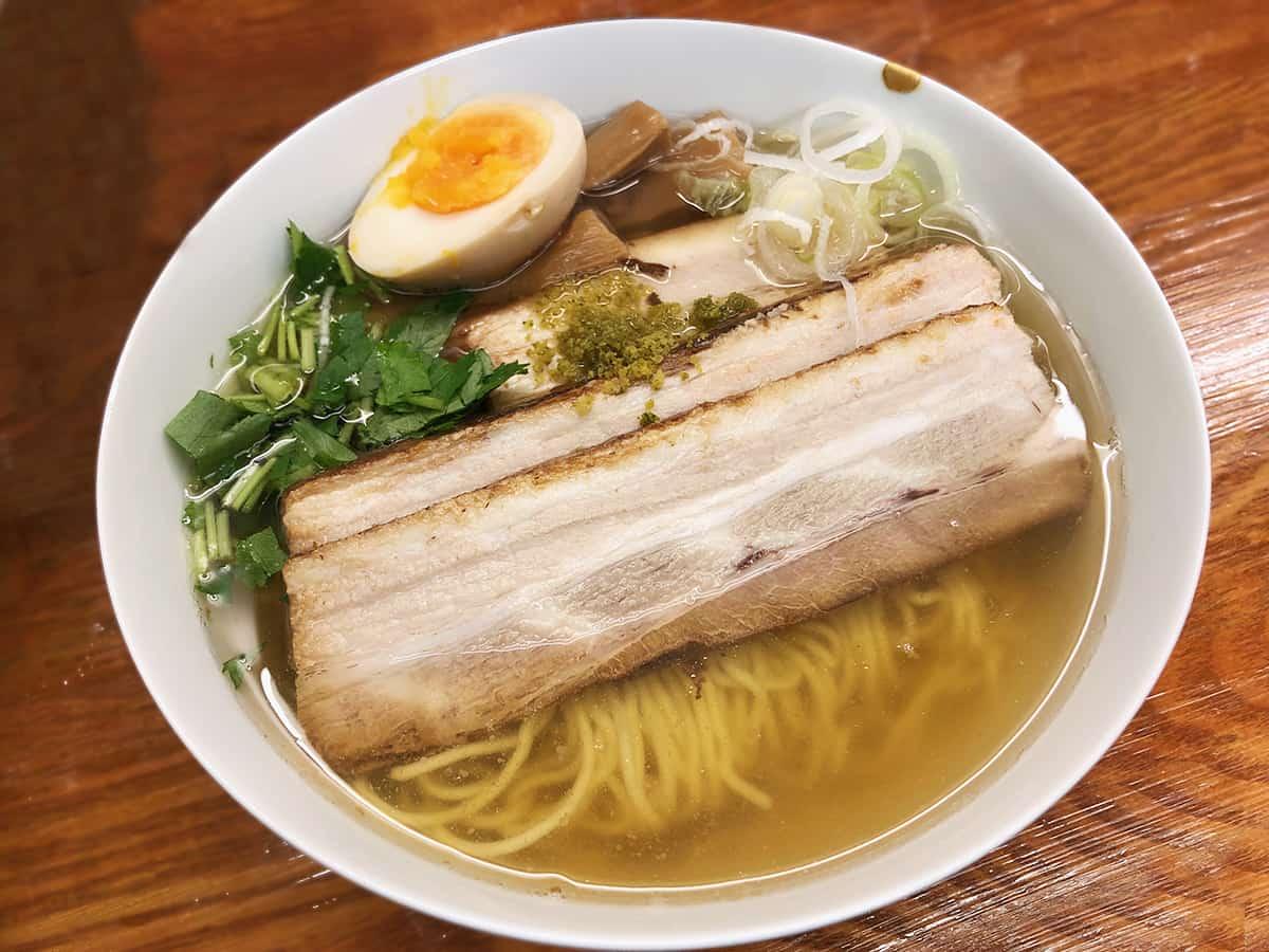 東京 有楽町 麺屋ひょっとこ 交通会館店|和風柚子焼豚柚子柳麺