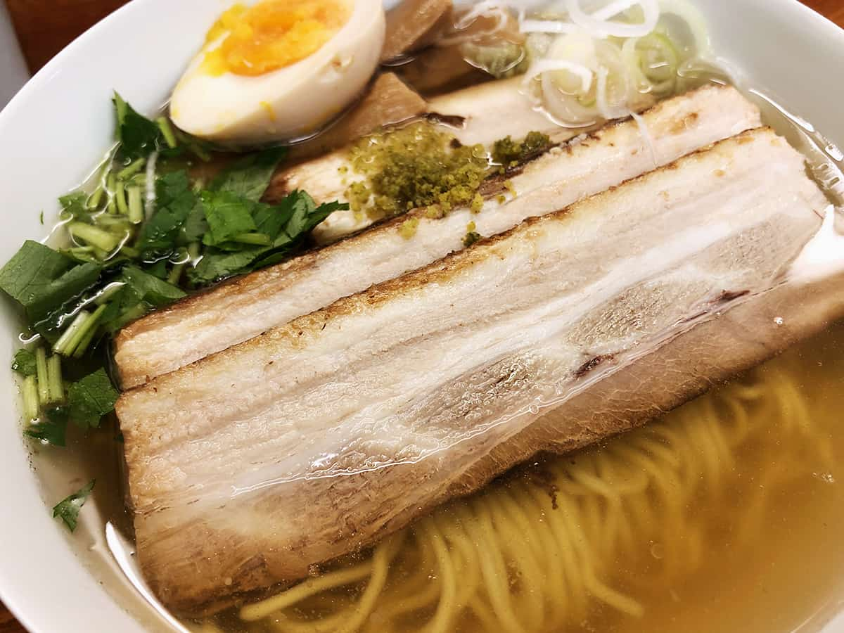 東京 有楽町 麺屋ひょっとこ 交通会館店 チャーシュー