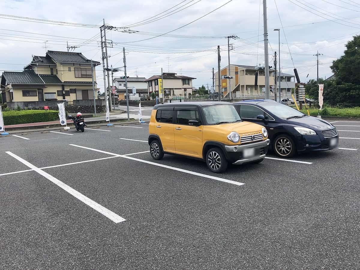 埼玉 ときがわ 高柳屋 駐車場