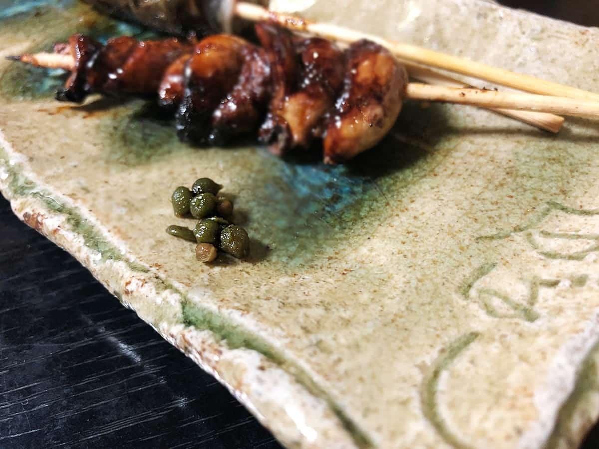 東京 江戸川橋 石ばし 煮山椒