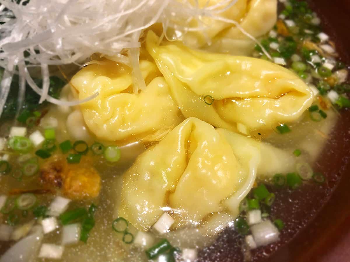 東京 小石川 中国料理 豊栄|ワンタン