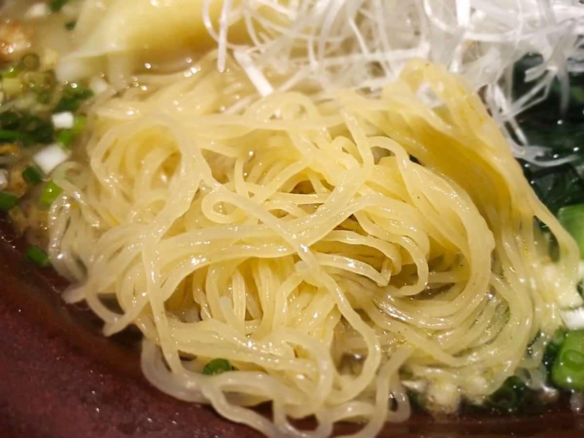 東京 小石川 中国料理 豊栄|麺