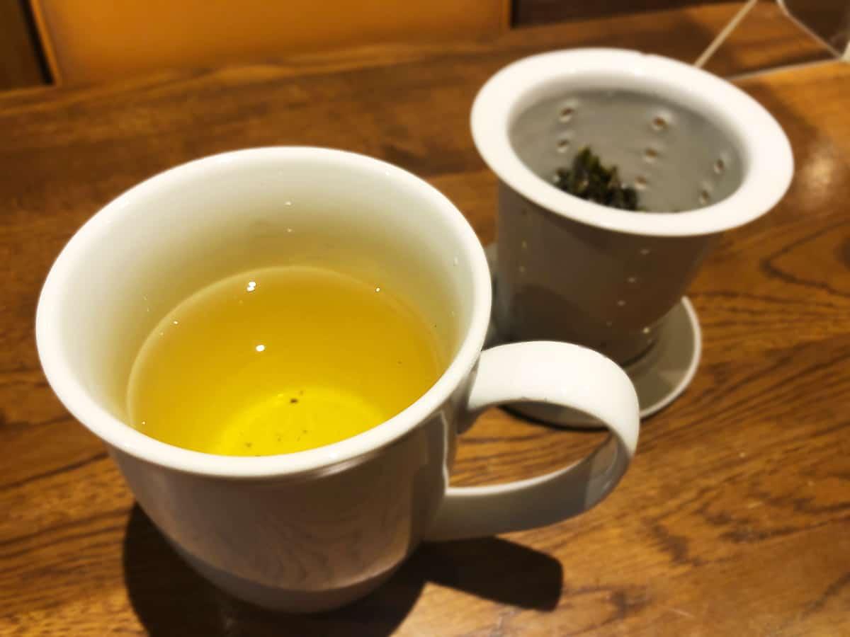東京 小石川 中国料理 豊栄|凍頂烏龍茶