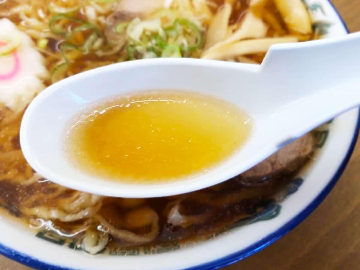 栃木 佐野 赤見屋 本店|スープ