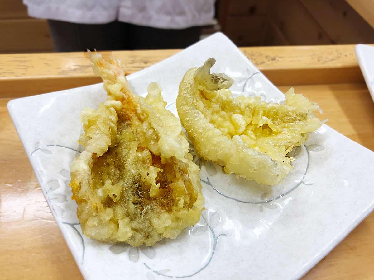埼玉 三芳 永井|きすとのどぐろの天ぷら