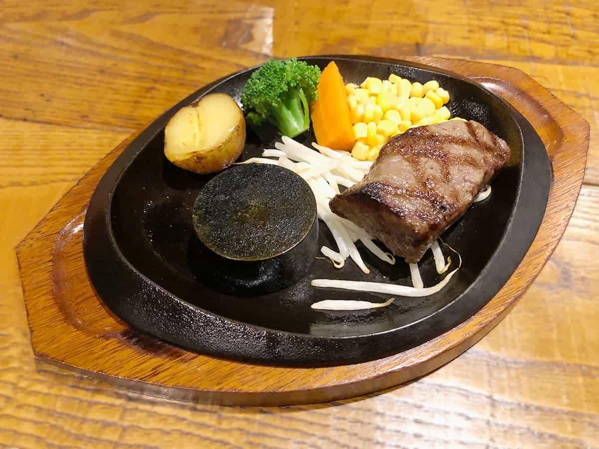 栃木県 那須町 ダイニングキッチン あ・かうはーど サーロインステーキ