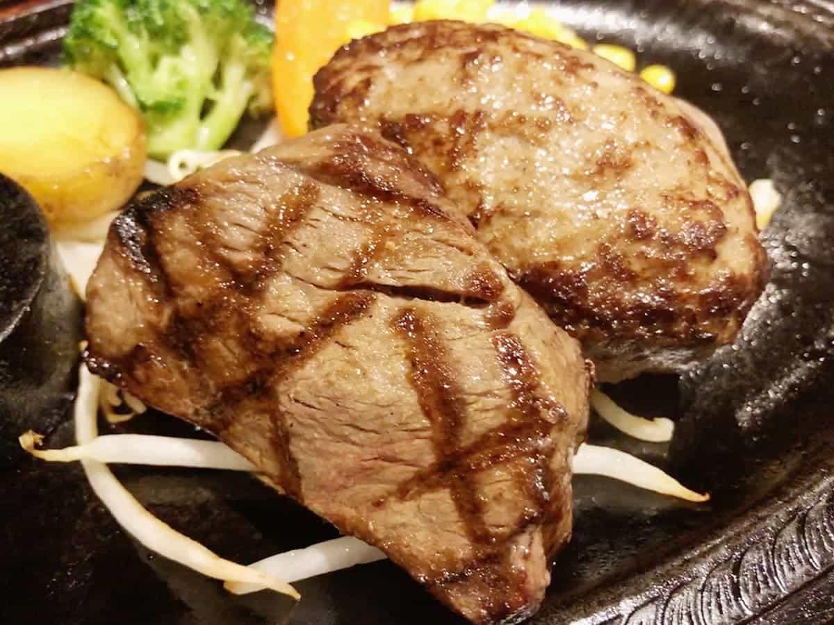 栃木県 那須町 ダイニングキッチン あ・かうはーど|サーロインステーキ&ハンバーグ