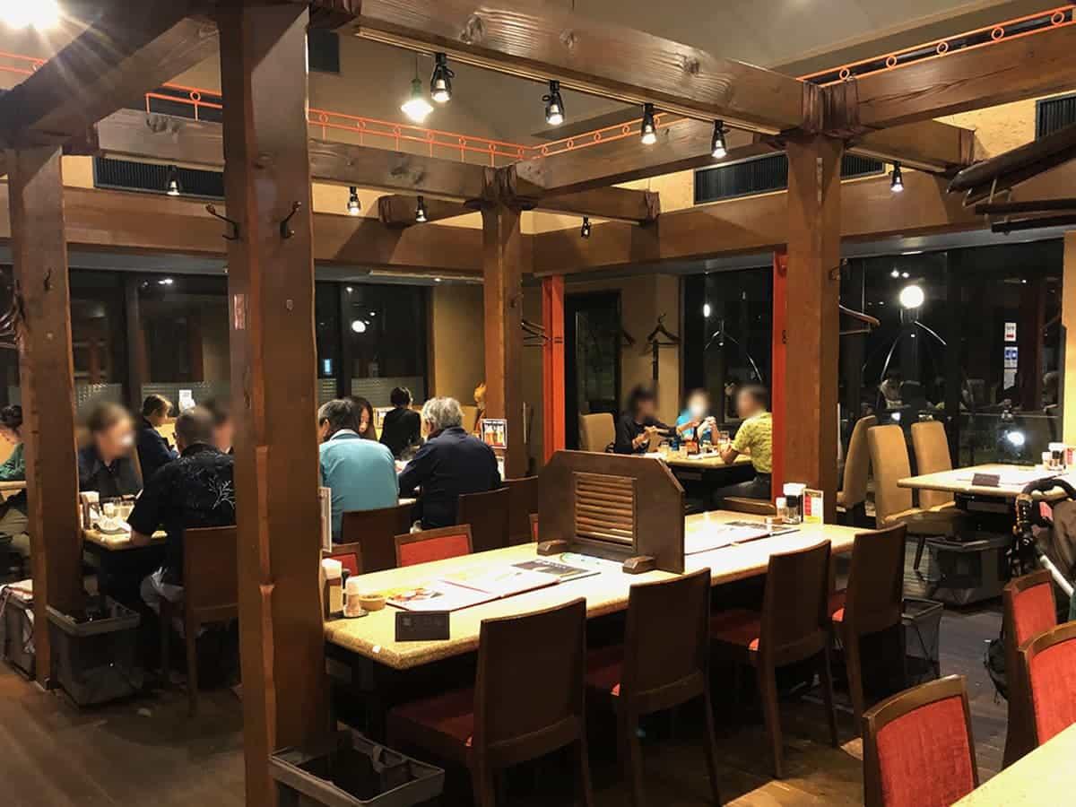 栃木県 那須町 ダイニングキッチン あ・かうはーど 店内