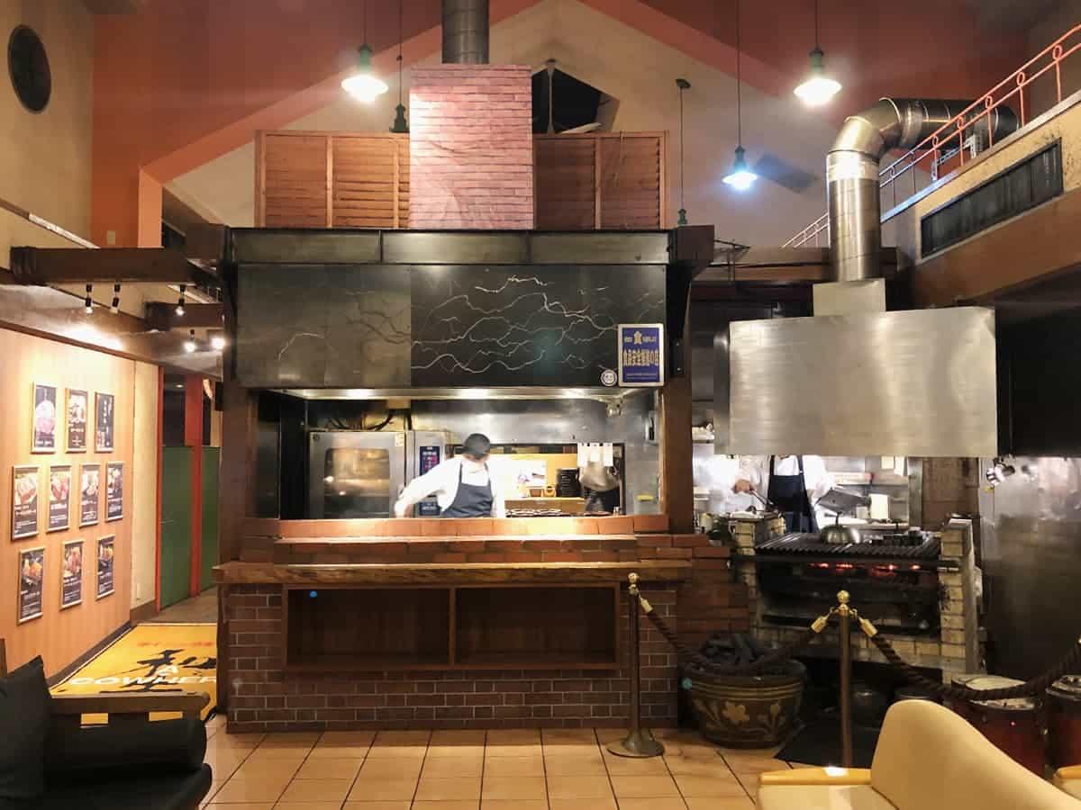 栃木県 那須町 ダイニングキッチン あ・かうはーど グリル