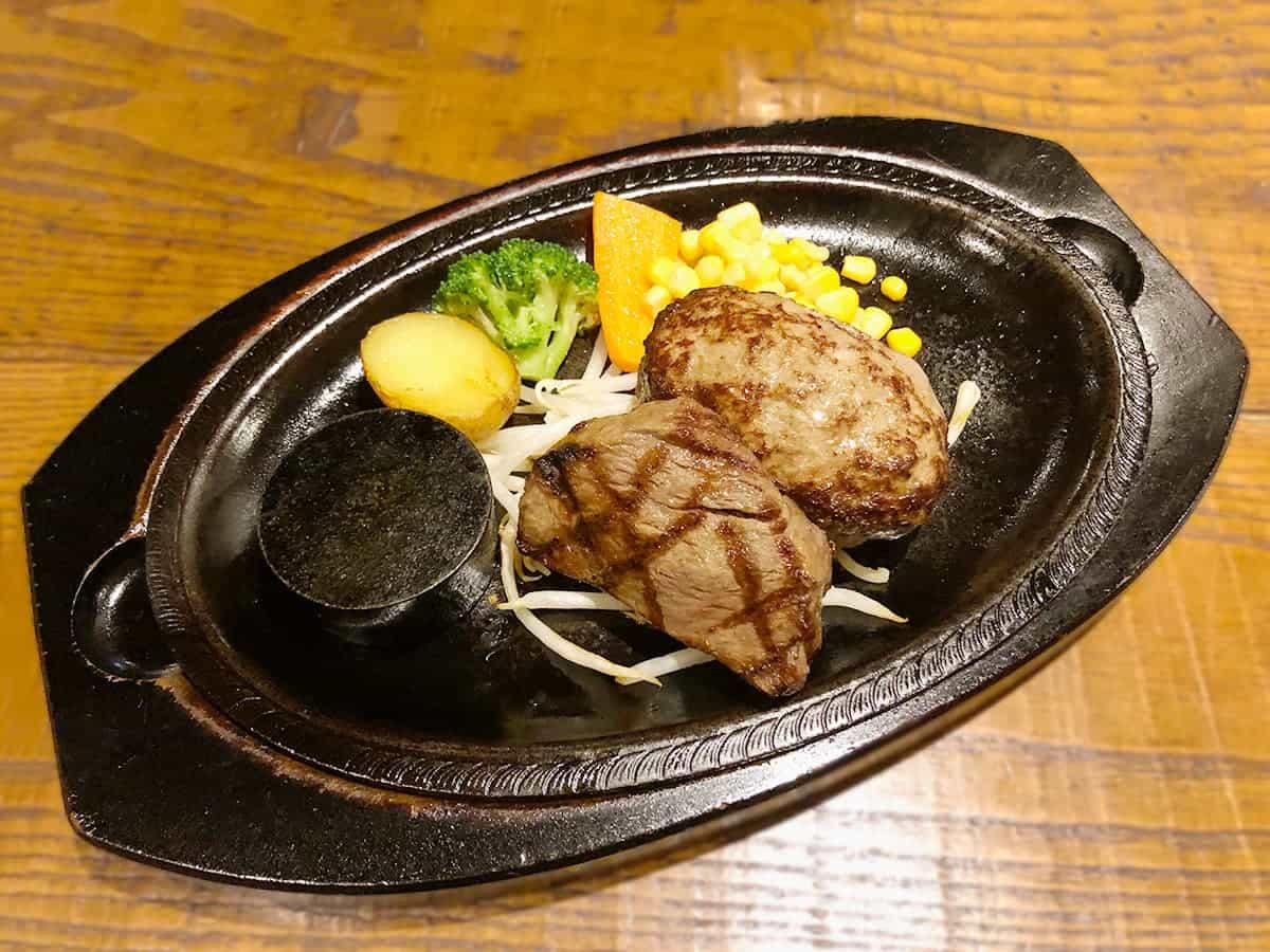 栃木県 那須町 ダイニングキッチン あ・かうはーど サーロインステーキ&ハンバーグ