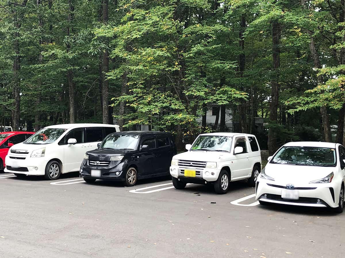 栃木 那須 NASU SHOZO CAFE(ナス・ショウゾウ カフェ)|駐車場