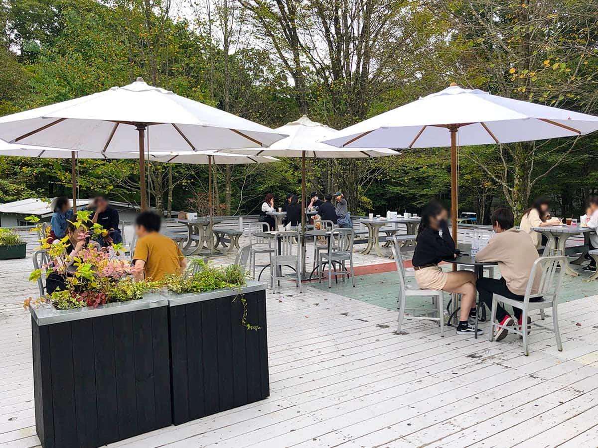栃木 那須 NASU SHOZO CAFE(ナス・ショウゾウ カフェ)|テラス席
