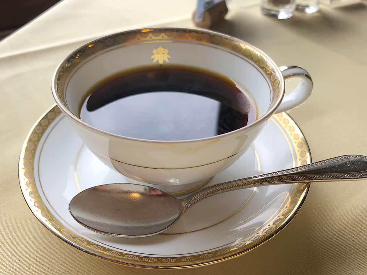栃木 日光 日光金谷ホテル コーヒー