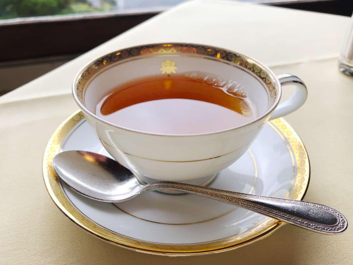 栃木 日光 日光金谷ホテル 紅茶
