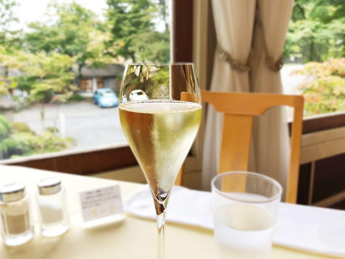 栃木 日光 日光金谷ホテル ノンアルコールスパークリングワイン
